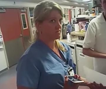 Salt Lake City Police fire detective who arrested nurse