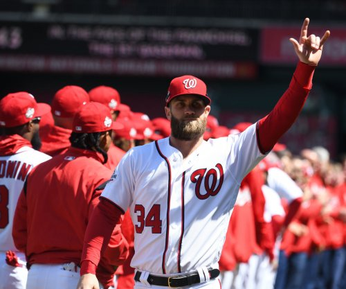 Nationals' Bryce Harper swats MLB-leading 6th home run