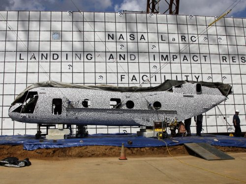 NASA to crash large helicopter to obtain safety data