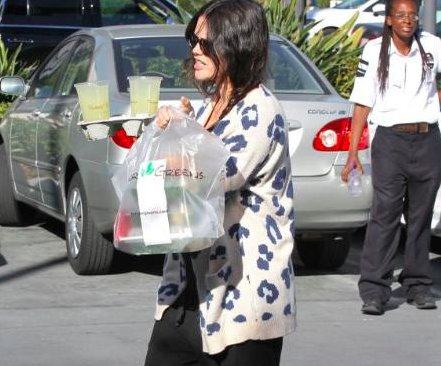 Rachel Bilson steps out for the first time since giving birth