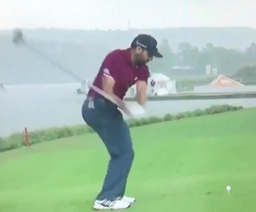 Watch: Sergio Garcia hits pathetic tee shot