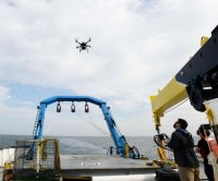 Navy tests autonomous drone as target for laser weapon testing