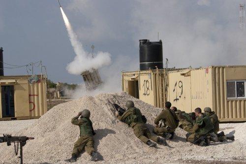 Israel's Iron Dome blocks Gaza barrage