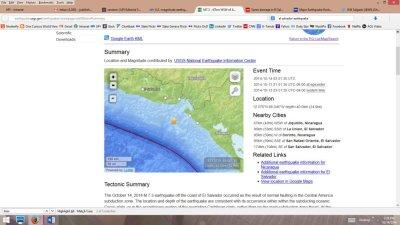 7.3-magnitude earthquake strikes off El Salvador's coast
