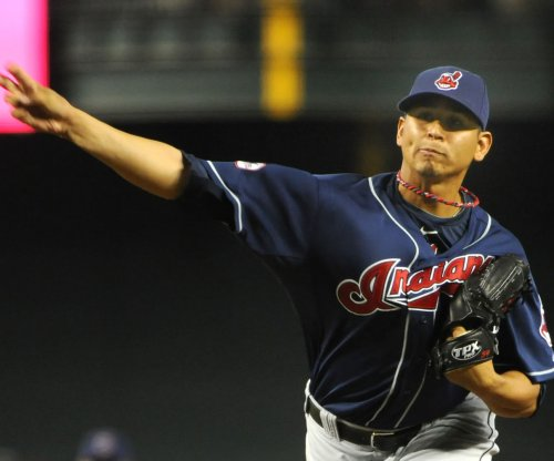 Cleveland Indians RHP Carlos Carrasco out at least four weeks