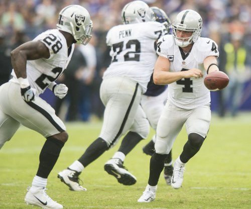 Oakland Raiders' Derek Carr not listening to MVP talk