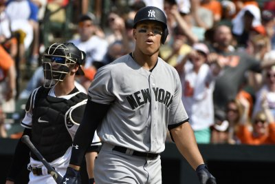 Aaron Judge crushes two more HRs; New York Yankees blast Baltimore Orioles