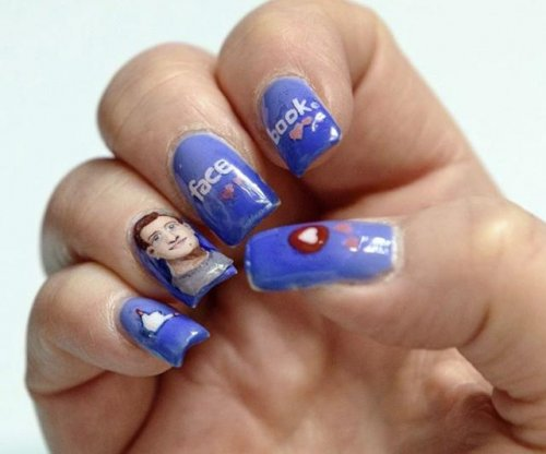 Mark Zuckerberg shares photo of his face painted on someone's fingernails