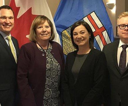 Oil-rich Alberta to finance greener economic shoots