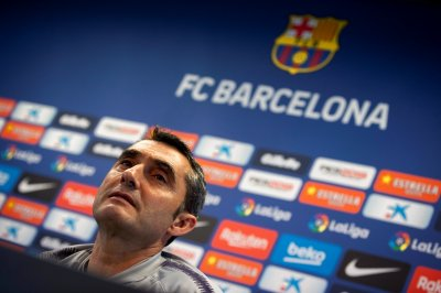 FC Barcelona board meeting to decide manager Ernesto Valverde's future