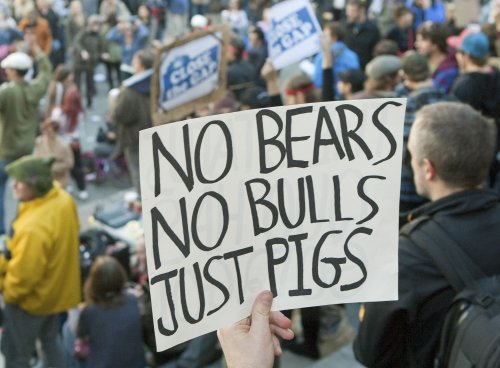 Occupy Wall Street protest holds teach-in