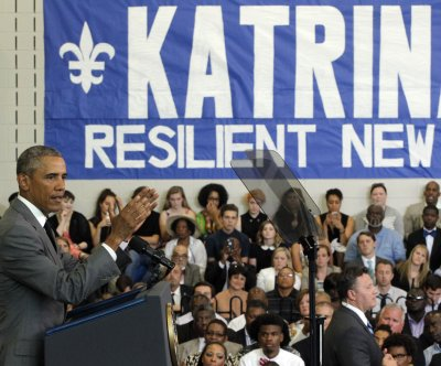 Obama says New Orleans a symbol of 'extraordinary resilience' 10 years after Katrina