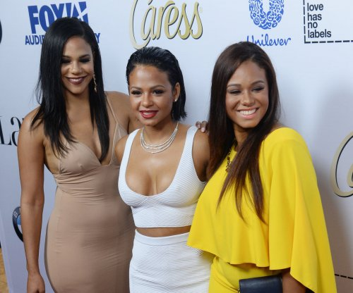 Christina Milian joined by sisters Liz and Danielle at Latina 'Hot List' Party