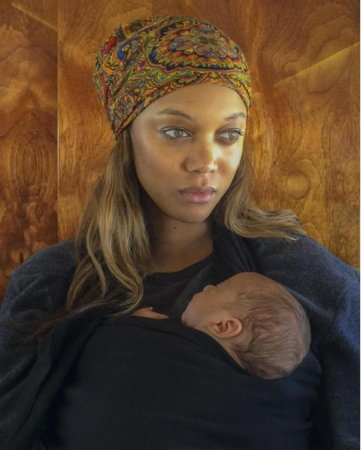 Tyra Banks shares first photo of newborn son York on Instagram