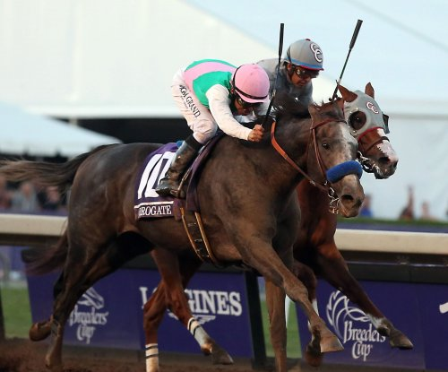 Arrogate defeats California Chrome in $6M Breeders' Cup Classic