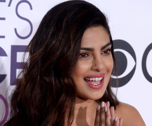Priyanka Chopra collects People's Choice Award days after suffering concussion