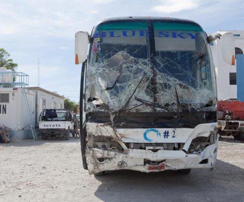 Dozens killed in Haiti after runaway bus hits crowd