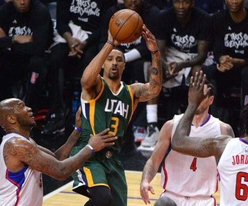 Man down: Utah Jazz G George Hill ruled out for Game 2 vs. Golden State Warriors