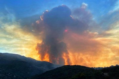 Cave Fire burns 4,000 acres in Southern California; evacuations ordered