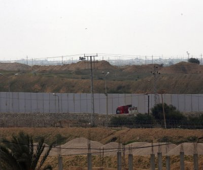 Egypt constructing concrete wall along border with Gaza Strip
