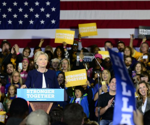 Clinton hopscotches cities, including Pittsburgh, Detroit, Cleveland, Miami