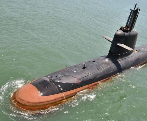 India launches second Scorpene-class submarine