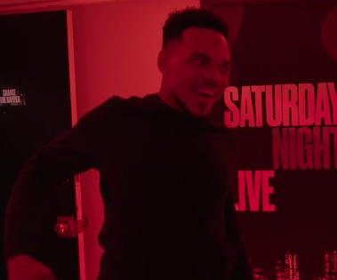 Chance the Rapper dances with 'Saturday Night Live' cast in new promo
