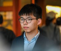 Activist Joshua Wong given prison sentence for Hong Kong police protest