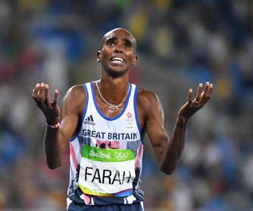 Olympian Mo Farah criticizes Trump's travel ban