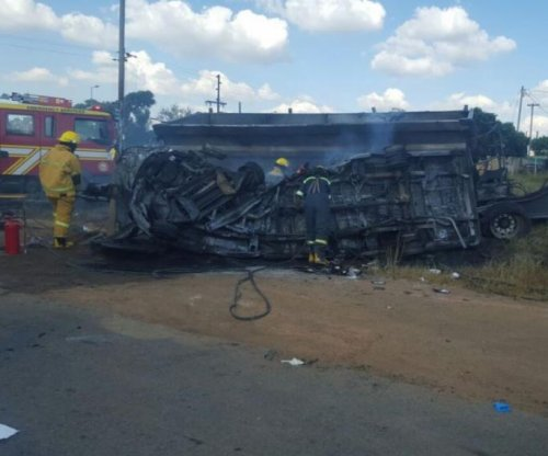 Bus crash kills 20 children in South Africa