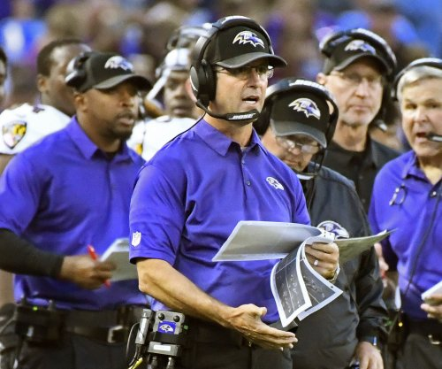 Baltimore Ravens head coach John Harbaugh gets contract extension