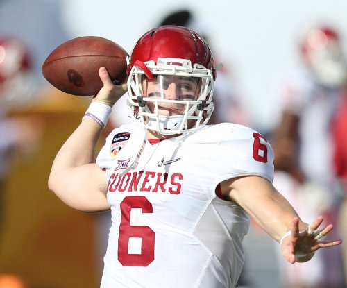 Baker Mayfield, No. 4 Oklahoma blast West Virginia
