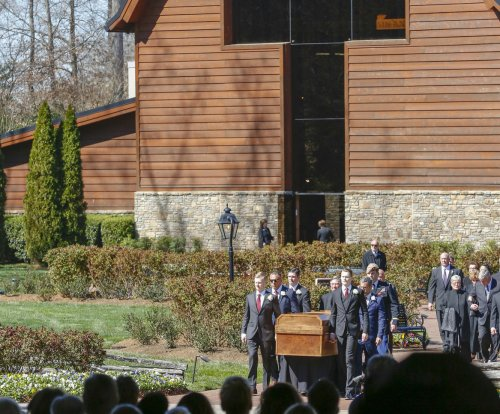 Billy Graham honored at funeral: 'He's in the presence of God'