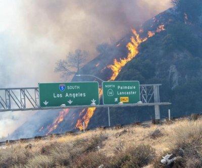 Saddleridge Fire sparked near transmission tower, investigators say