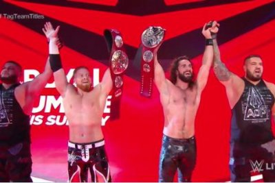 WWE Raw: Seth Rollins, Buddy Murphy become Tag Team Champions