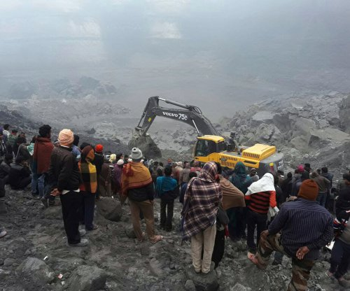 At least 5 killed, many trapped by mine collapse in India