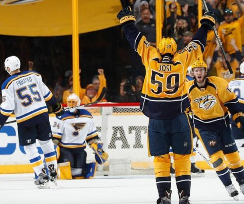 Nashville Predators take control of series, beat St. Louis Blues 3-1