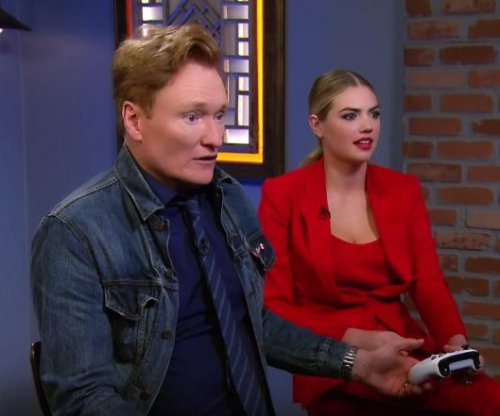 Kate Upton, Conan O'Brien take on 'Cuphead' in new Clueless Gamer