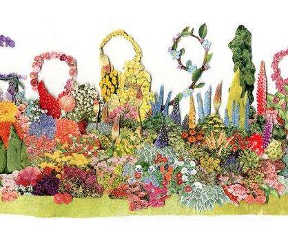 Google honors garden designer Gertrude Jekyll with new Doodle