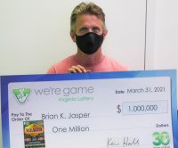 Work errand to buy dish soap leads man to $1 million lottery jackpot