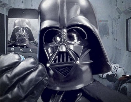 Darth Vader selfie kicks off Star Wars Instagram