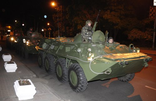 Ukraine orders troops to four areas, proposes abolition of special-status law