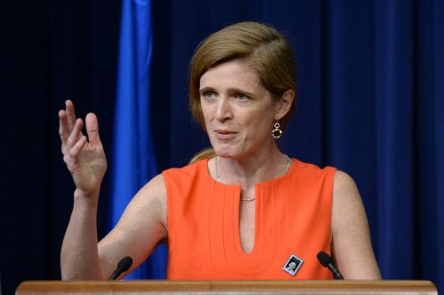 Samantha Power condemns anti-Semitism at Berlin conference