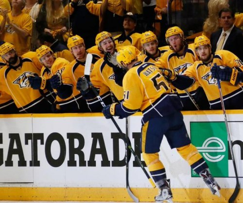 NHL: Nashville Predators sign forward Austin Watson to three-year deal