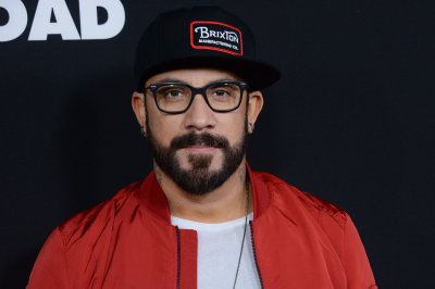 Boy band members A.J. McLean, Liam Payne meet up