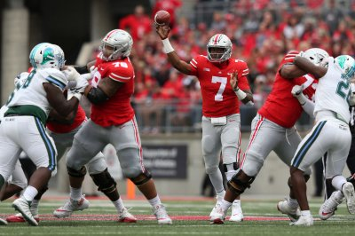 Ohio State QB Dwayne Haskins on sizzling pace