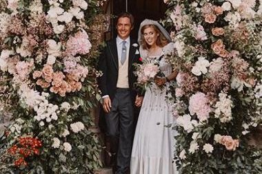 Royal family releases Princess Beatrice wedding photos