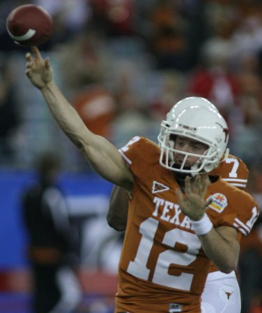 Colt McCoy wins three top awards