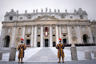 Papal conclave to begin next week