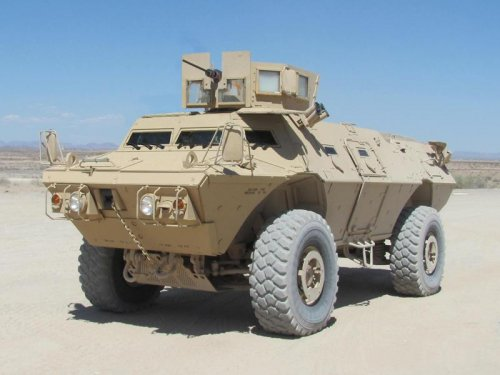 Textron supplies armored vehicles to Afghanistan